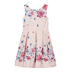 RJR.John Rocha - Girls' light pink floral prom dress