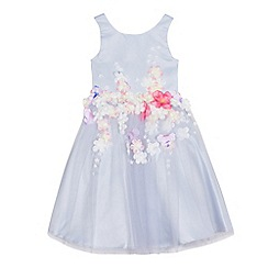 RJR.John Rocha - Girls' lilac floral applique dress