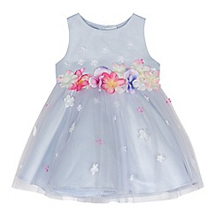 RJR.John Rocha - Baby girls' lilac 3D floral dress