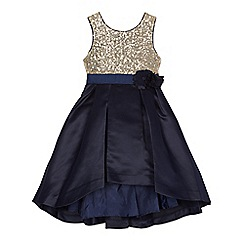 RJR.John Rocha - Girls' navy sequin bodice dress