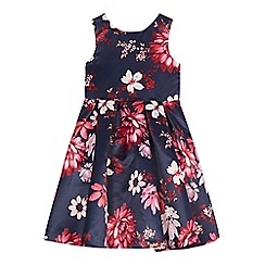 RJR.John Rocha - Girls' multicoloured floral print prom dress