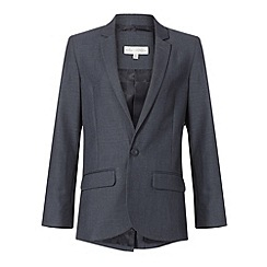 RJR.John Rocha - Boy's grey stab stitch suit jacket