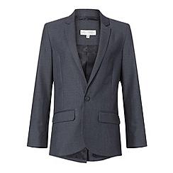 RJR.John Rocha - Boy's grey stab stitch suit jacket