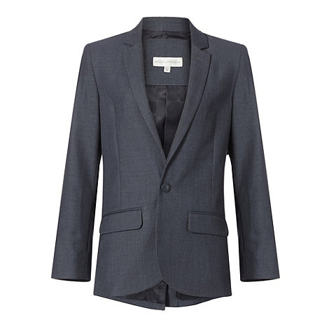 RJR.John Rocha - Boy+s grey stab stitch suit jacket