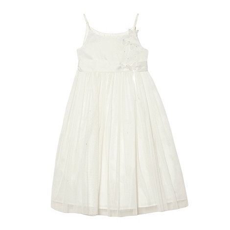 Tigerlily - Girl+s ivory butterfly dress