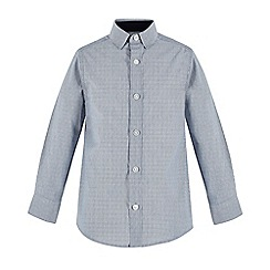 RJR.John Rocha - Boys' blue striped long sleeve shirt