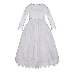 RJR.John Rocha - Girls' white lace dress