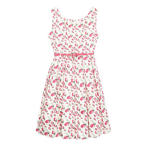 Piknik - Girl+s strawberry printed prom dress