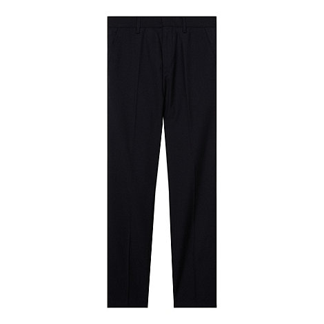 bluezoo - Boy+s navy woven suit trousers