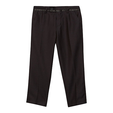 bluezoo - Boy+s slim fit black trousers