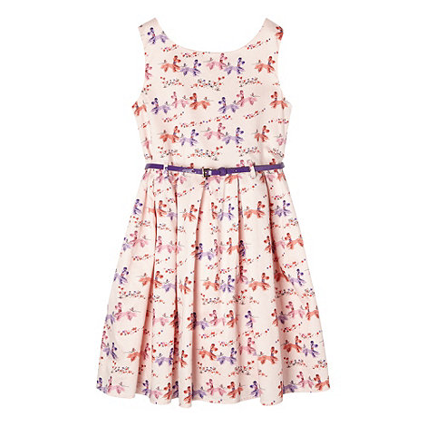 Piknik - Girl+s pale pink poodle dress