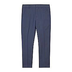 RJR.John Rocha - Boys' blue textured slim fit trousers
