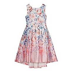 RJR.John Rocha - Girls' lilac floral print dress