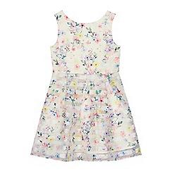 RJR.John Rocha - Girls' multi-coloured floral print dress