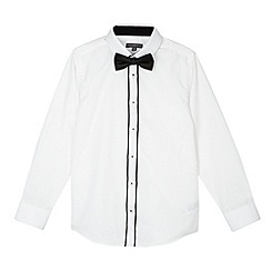 RJR.John Rocha - Designer boy's white shirt and bow tie