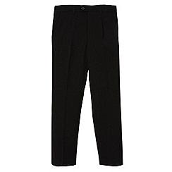 RJR.John Rocha - Designer boy's black formal trousers