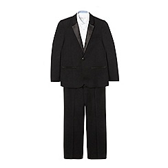 RJR.John Rocha - Designer boy's black suit jacket and trousers