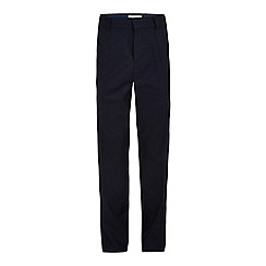 RJR.John Rocha - Designer boy's navy slim fit suit trousers