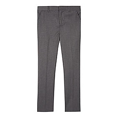 RJR.John Rocha - Designer boy's grey pin dot slim fit trousers