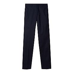 RJR.John Rocha - Designer boy's navy linen blend trousers