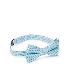 RJR.John Rocha - Designer boy's green block bow tie