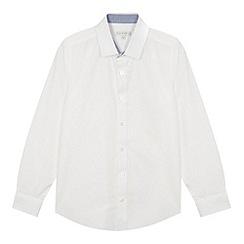 RJR.John Rocha - Designer boy's white textured shirt