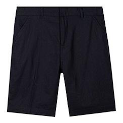 RJR.John Rocha - Designer boy's navy linen blend shorts