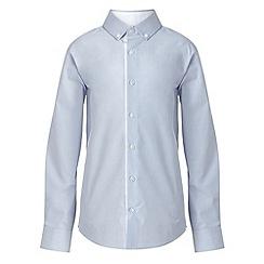 RJR.John Rocha - Designer boy's blue cross dye shirt