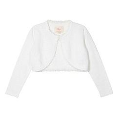 RJR.John Rocha - Designer girl's white cardigan