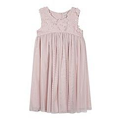 RJR.John Rocha - Designer girl's pink floral bodice dress