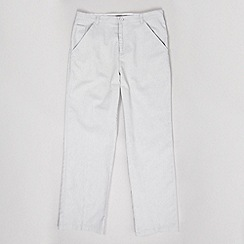 St George by Duffer - Boy's grey linen trousers