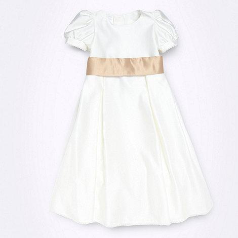 Tigerlily - Girl+s ivory flower girl dress