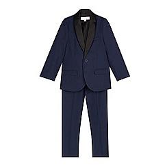 RJR.John Rocha - Designer boy's blue tuxedo set