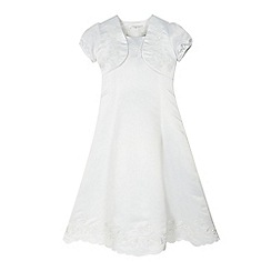 RJR.John Rocha - Girls' white floral dress and bolero