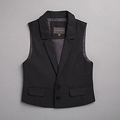 RJR.John Rocha - Designer boy's grey slim fitting waistcoat