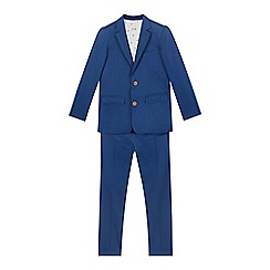 RJR.John Rocha - Boys' blue slim fit two-piece blazer and trousers set