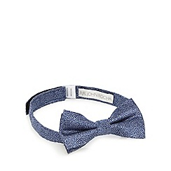RJR.John Rocha - Boys' blue crackle print bow tie
