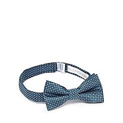 RJR.John Rocha - Boys' green textured diamond bow tie