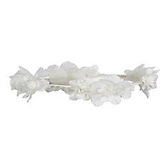 Debenhams - Ivory floral halo