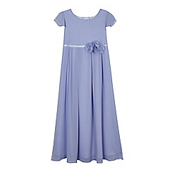 RJR.John Rocha - Girls' lilac angel sleeve dress