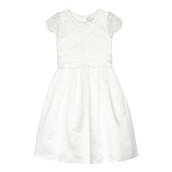 RJR.John Rocha - Girls' ivory scattered flower dress