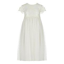 RJR.John Rocha - Girls' ivory lace dress