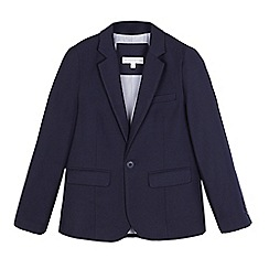 RJR.John Rocha - Boys' navy textured jacket