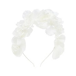 RJR.John Rocha - Girls' ivory floral applique headband