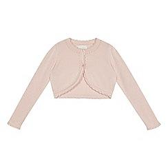 RJR.John Rocha - Girls' pink cardigan