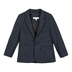 RJR.John Rocha - Boys' navy textured wool blend jacket