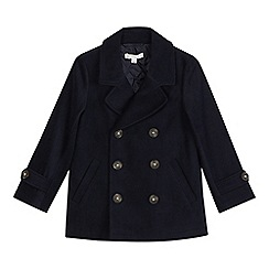 RJR.John Rocha - Boys' navy pea coat