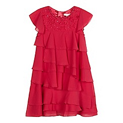 RJR.John Rocha - Girls' pink ruffle dress