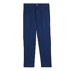 RJR.John Rocha - Boys' navy regular fit trousers