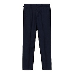 RJR.John Rocha - Boys' navy slim fit trousers